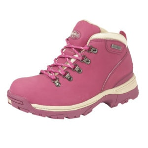Hot pink ladies walking boot