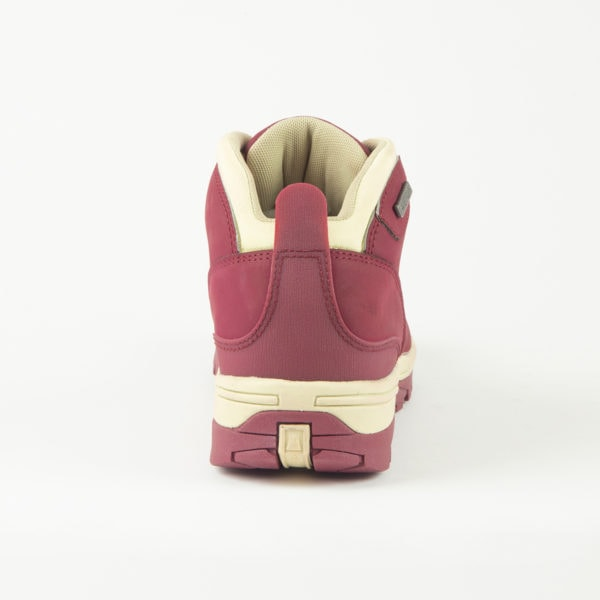 Trek Burgundy Back Of Walking Boot