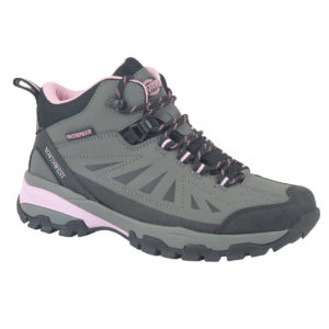 KeelHi Grey Pink Side Of Walking Boot