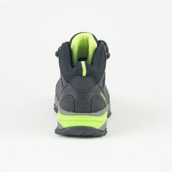 Black-Lime Walking Boot