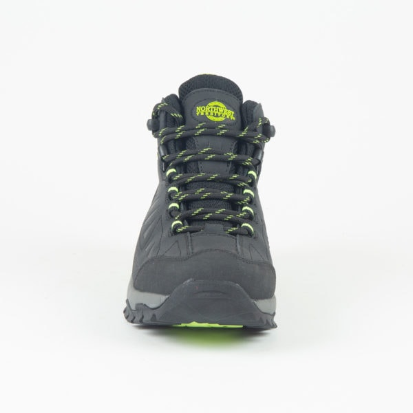 Keele Black Lime Front Of Walking Boot