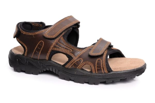 Men's Leather Sports Sandal